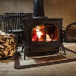 The Pros And Cons Of A Wood Stove Fireplace